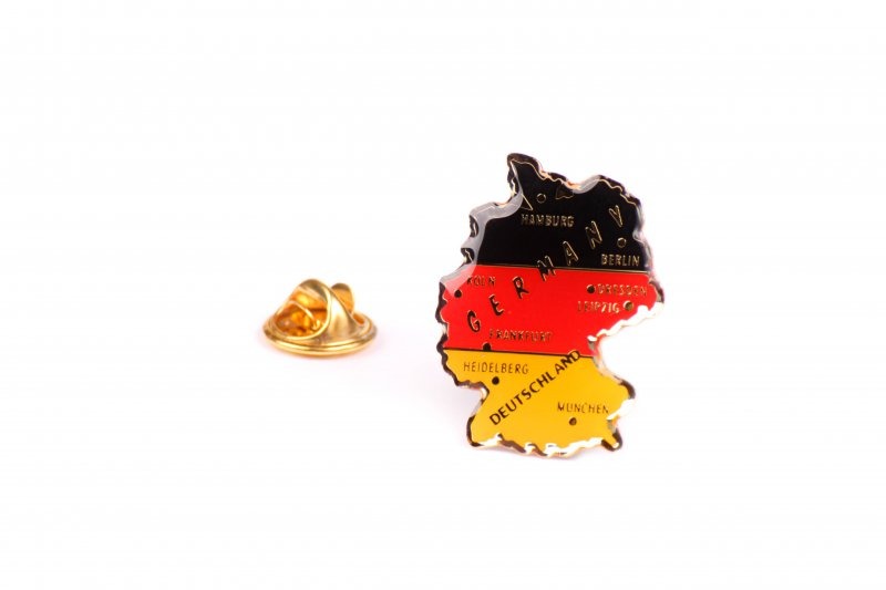 Germany Map Pin