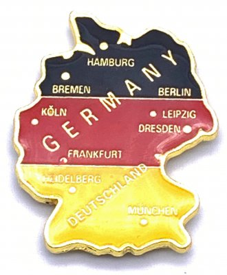 Germany relief map