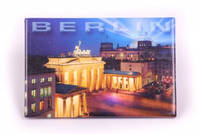 Berlin bei Nacht Magnet