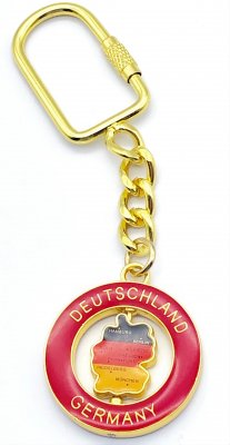 Key Chain Germany - Map