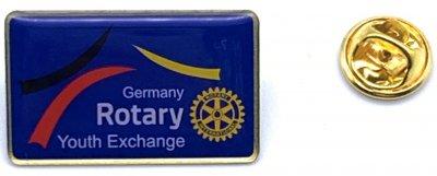 ROTARY International Youth Exchange Pin