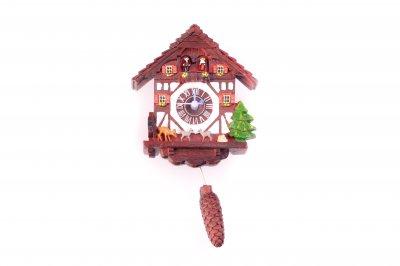 Kuckucksuhr Magnet -mit Uhrwerk-
