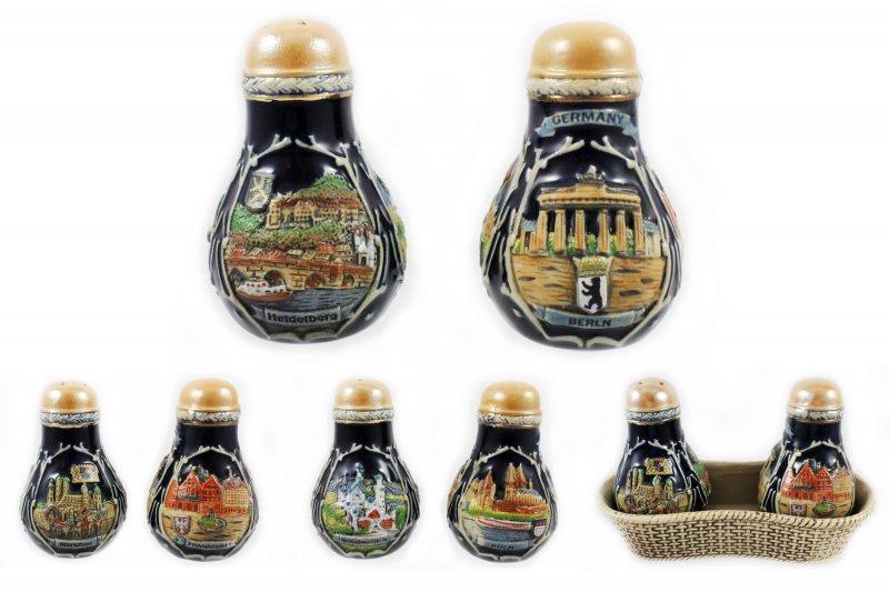Salt and Pepper Set - Beer Mug Design