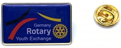 10 Rotary Pins - Youth Exchange