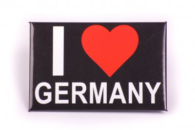 Germany Magnet - I Love Germany