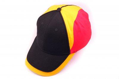 Deutschland Cappy - Schwarz Rot Gold