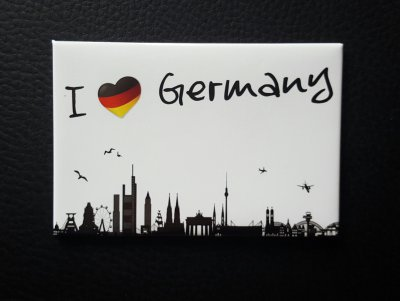 Germany Magnet Silhouette