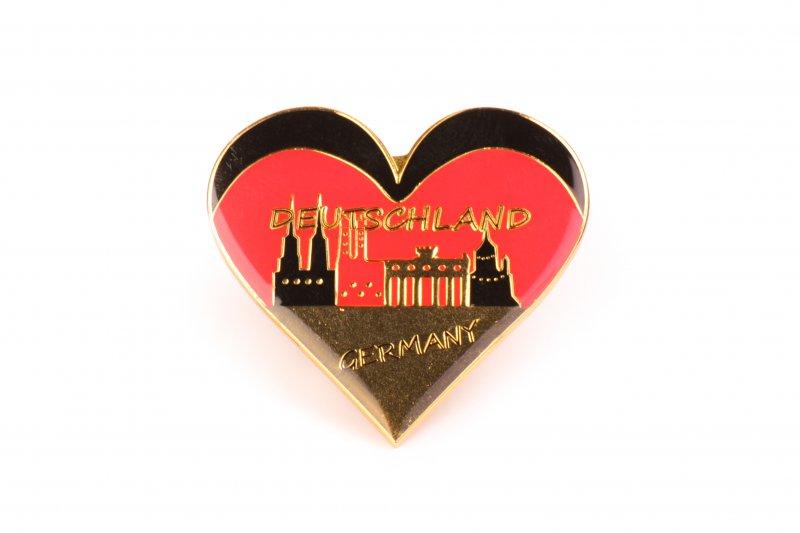 Germany Magnet - Heart