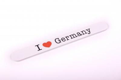 Nagelfeile I Love Germany
