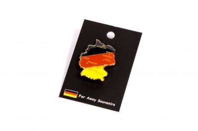 10 Deutschlandkarten-Pins im Set