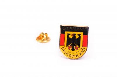 10 Deutschlandwappen-Pins im Set