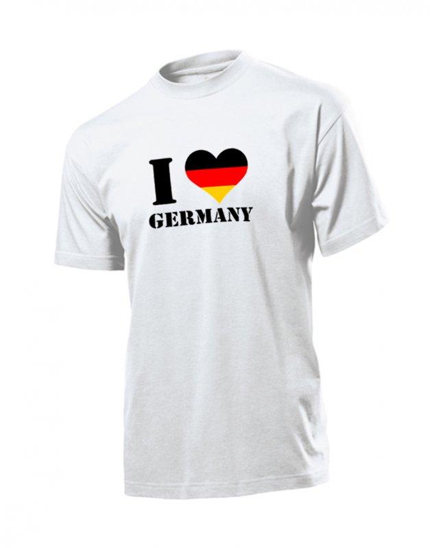 Deutschland Shirt - I Love Germany