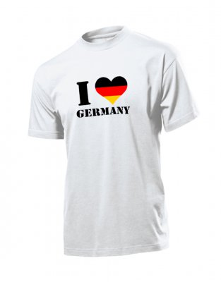 Deutschland Shirt - I Love Germany