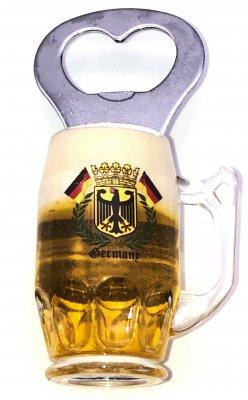 Bierkrugmagnet mit Öffner