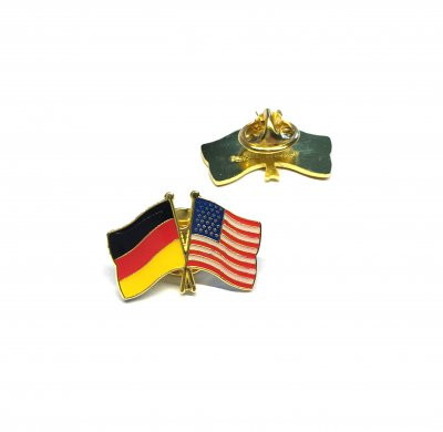Freundschaftspin Deutschland - USA