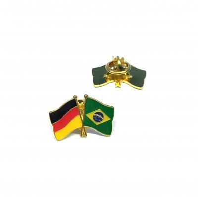 Freundschaftspin Deutschland - Brasilien