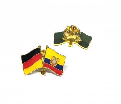 Freundschaftspin Deutschland - Ecuador