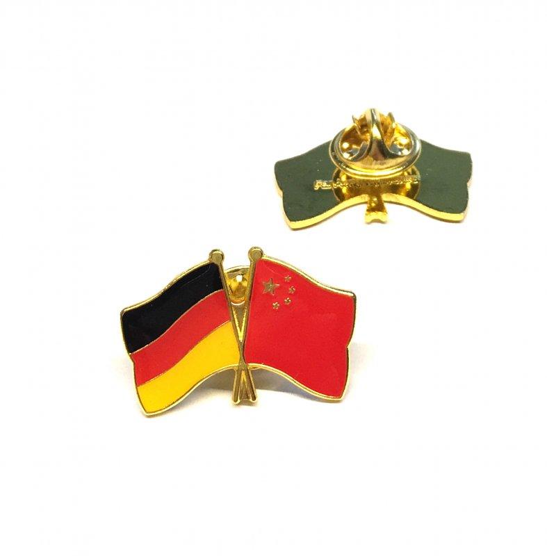 Freundschaftspin Deutschland - China