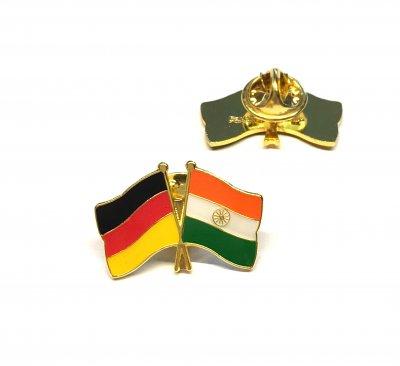 Freundschaftspin Deutschland - Indien