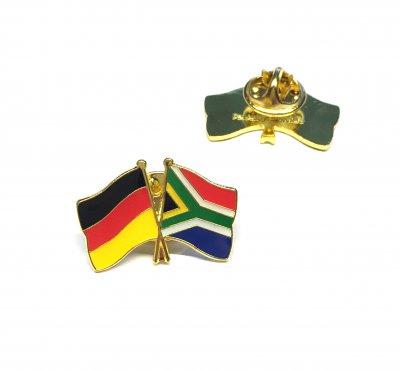 Freundschaftspin Deutschland - Südafrika