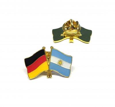 Freundschaftspin Deutschland - Argentinien