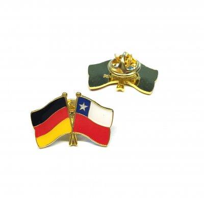 Freundschaftspin Deutschland - Chile