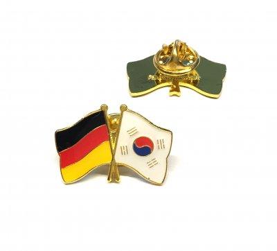 Freundschaftspin Deutschland - Südkorea