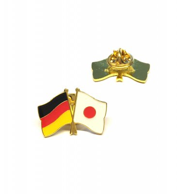 Freundschaftspin Deutschland - Japan