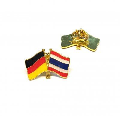 Freundschaftspin Deutschland - Thailand