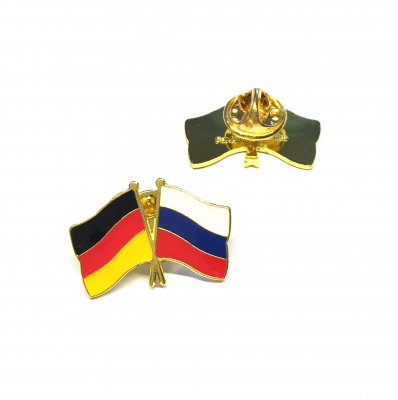 Freundschaftspin Deutschland - Russland
