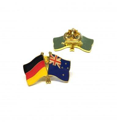 Freundschaftspin Deutschland - Neuseeland