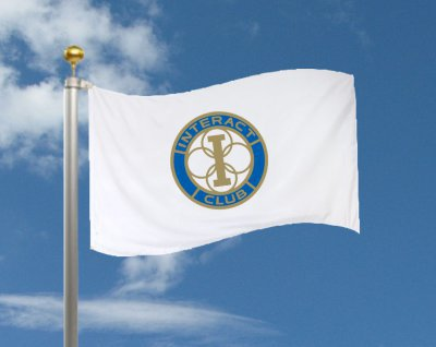 Fahne bedruckt