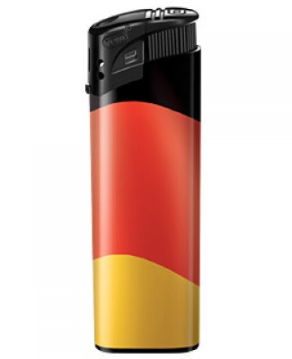 Deutschlandfeuerzeug - Fahne