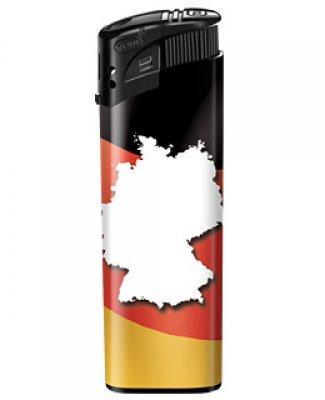 Deutschlandfeuerzeug - Karte