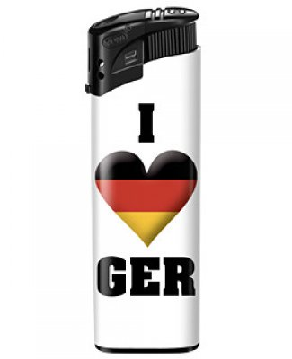 Deutschlandfeuerzeug - I Love Germany