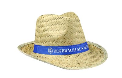 Strohhut 'Hofbräuhaus'