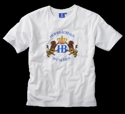 T-Shirt weiß/bunt 'Hofbräuhaus'