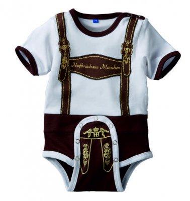 Baby-Body 'Lederhose'