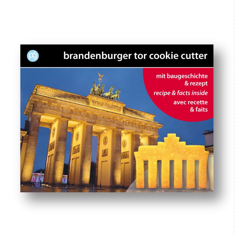 Keksausstecher 'Brandenburger Tor'