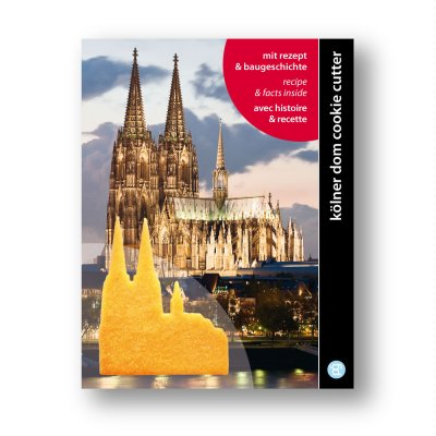 Keksausstecher 'Kölner Dom'