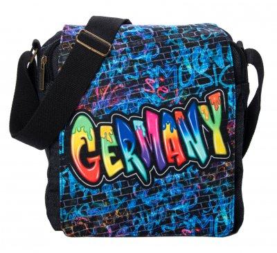 Umschlagtasche Graffiti