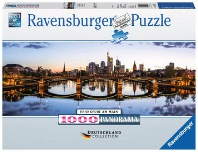 Puzzle Frankfurt am Main Panorama