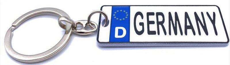 Nummernschild-Anhänger Germany