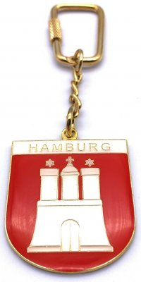 Anhänger Hamburg Wappen