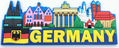 Germany Magnet -Soft Cover-