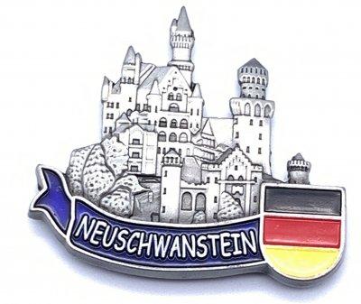 Magnet Schloss Neuschwanstein - Metall -