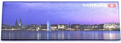 Magnet Hamburg Landungsbrücke -Lang-