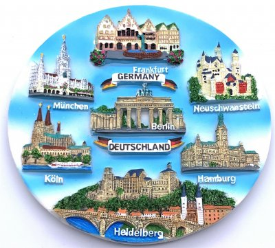 Souvenir Plate - Germany -