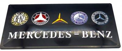 Blechschild Mercendes Benz
